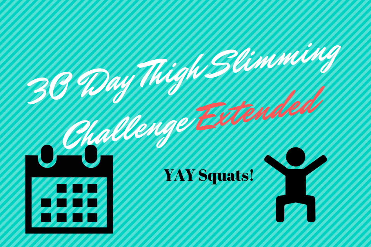 30-Day Thigh Slimming Challenge-Extended